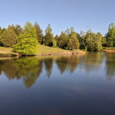 View of Sugar Lake